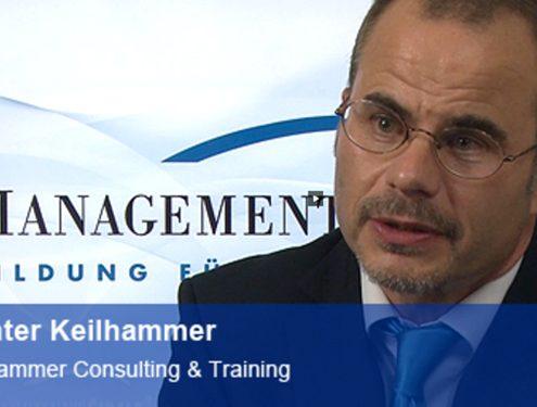 Günter Keilhammer Bankexperte und Seminartrainer aus München beim Interviews Managment Circle